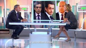 Caroline Roux dans C Politique - 05/10/14 - 012