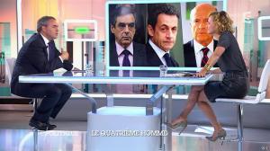 Caroline Roux dans C Politique - 05/10/14 - 014