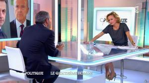 Caroline Roux dans C Politique - 05/10/14 - 015
