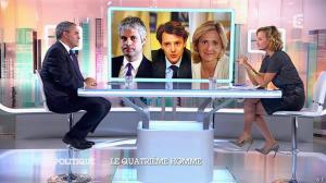 Caroline Roux dans C Politique - 05/10/14 - 022