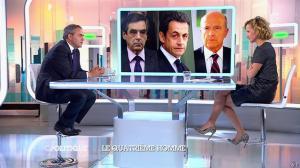 Caroline Roux dans C Politique - 05/10/14 - 023