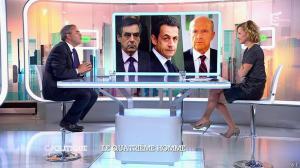 Caroline Roux dans C Politique - 05/10/14 - 024