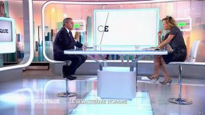 Caroline Roux dans C Politique - 05/10/14 - 026