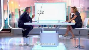 Caroline Roux dans C Politique - 05/10/14 - 027