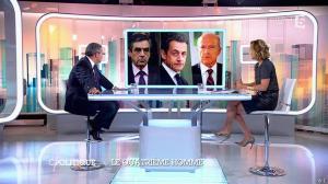 Caroline Roux dans C Politique - 05/10/14 - 028