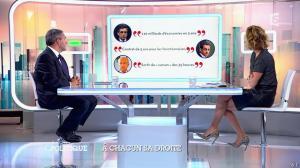 Caroline Roux dans C Politique - 05/10/14 - 045