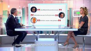 Caroline Roux dans C Politique - 05/10/14 - 046