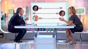 Caroline Roux dans C Politique - 05/10/14 - 048