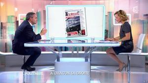 Caroline Roux dans C Politique - 05/10/14 - 052