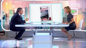 Caroline Roux dans C Politique - 05/10/14 - 053