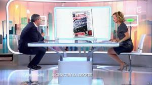 Caroline Roux dans C Politique - 05/10/14 - 054