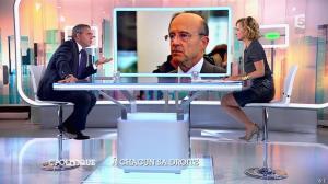 Caroline Roux dans C Politique - 05/10/14 - 064