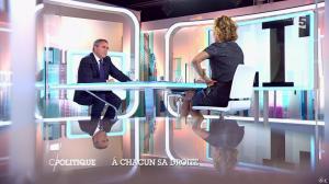 Caroline Roux dans C Politique - 05/10/14 - 065
