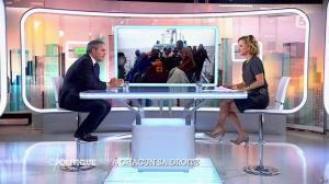 Caroline Roux dans C Politique - 05/10/14 - 070