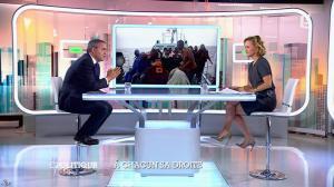 Caroline Roux dans C Politique - 05/10/14 - 071