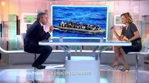 Caroline Roux dans C Politique - 05/10/14 - 073