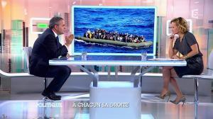 Caroline Roux dans C Politique - 05/10/14 - 074