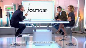 Caroline Roux dans C Politique - 05/10/14 - 091