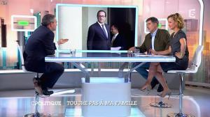 Caroline Roux dans C Politique - 05/10/14 - 092