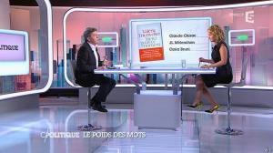 Caroline Roux dans C Politique - 07/09/14 - 09