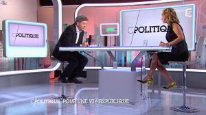 Caroline Roux dans C Politique - 07/09/14 - 10