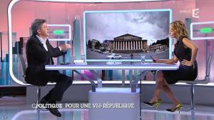Caroline Roux dans C Politique - 07/09/14 - 11