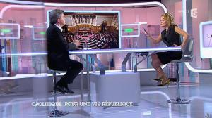 Caroline Roux dans C Politique - 07/09/14 - 13