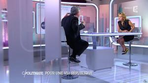 Caroline Roux dans C Politique - 07/09/14 - 14