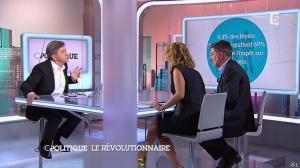 Caroline Roux dans C Politique - 07/09/14 - 15