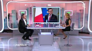 Caroline Roux dans C Politique - 07/09/14 - 18