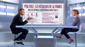 Caroline Roux dans C Politique - 08/12/13 - 11
