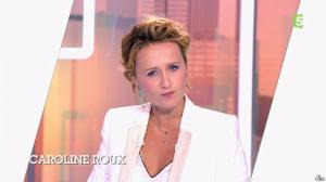 Caroline Roux dans C Politique - 12/10/14 - 02
