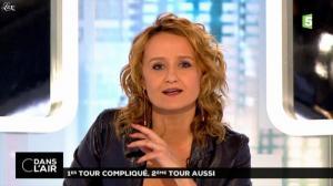 Caroline Roux dans C dans l'Air - 24/03/14 - 01