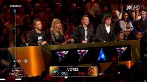 Cathy Guetta dans Rising Star - 16/10/14 - 06