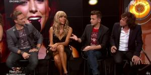 Cathy Guetta dans Rising Star - 25/09/14 - 09