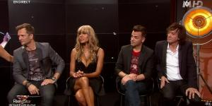 Cathy Guetta dans Rising Star - 25/09/14 - 10