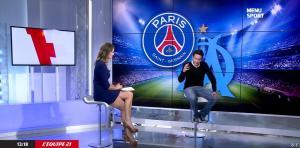 France Pierron dans Menu Sport - 04/11/14 - 06