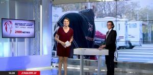 France Pierron dans Menu Sport - 06/11/14 - 08