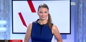 France Pierron dans Menu Sport - 07/10/14 - 05