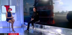 France Pierron dans Menu Sport - 07/10/14 - 08