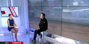 France Pierron dans Menu Sport - 07/10/14 - 10