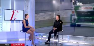 France Pierron dans Menu Sport - 07/10/14 - 12
