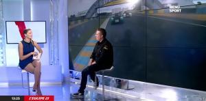 France Pierron dans Menu Sport - 07/10/14 - 15