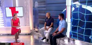 France Pierron dans Menu Sport - 09/09/14 - 03