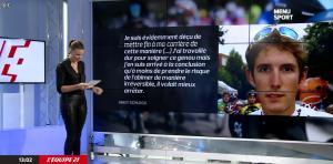 France Pierron dans Menu Sport - 09/10/14 - 07