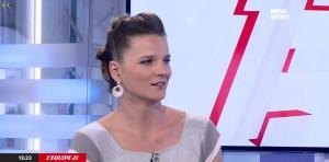 France Pierron dans Menu Sport - 10/11/14 - 10
