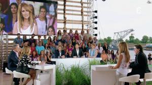 Julie Snyder et Céline Dion dans L Ete Indien - 02/08/14 - 42