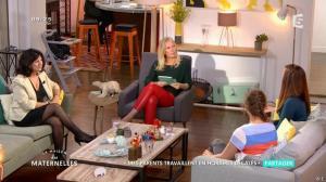 Agathe Lecaron dans la Maison des Maternelles - 11/10/16 - 06