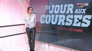 Amélie Bitoun dans Un Jour aux Courses - 04/10/16 - 02