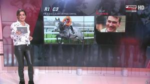 Amélie Bitoun dans un Jour aux Courses - 04/10/16 - 03